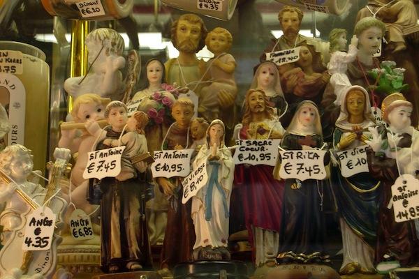 De markt van het geloof...