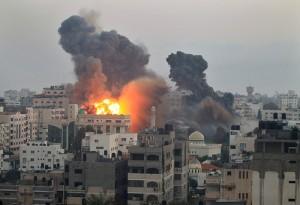 Beeld uit de Gazastrook: een eindeloze keten van geweld.