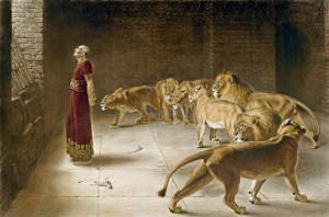 Daniel in de leeuwenkuil. 'Misschien hopen we meer op de verrijzenis dan dat we erin geloven.'