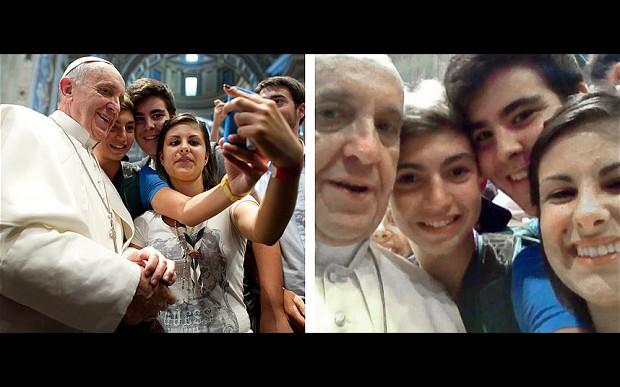 Geen beroemdheid ontkomt eraan: ze moeten ook op selfies.