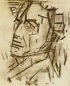 Zelfportret Piet Mondriaan